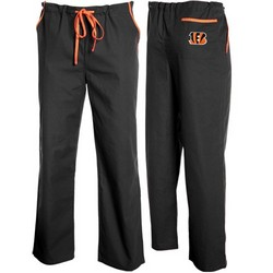 Cincinnati Bengals Black Basic Unisex Solid Scrub Pants