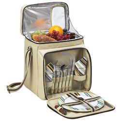 Canvas Picnic Cooler for 2