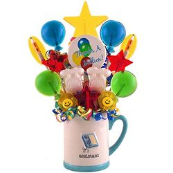 Assistant Mug Candy Bouquet