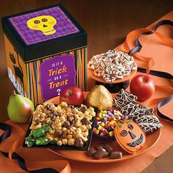 Halloween Fruit and Sweets Gift Tin