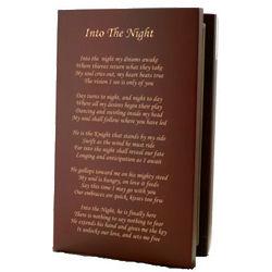 Into The Night Keepsake Box and Key