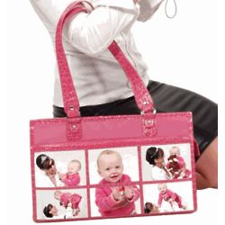6 Window Croco Trim Photo Bag