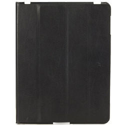Cornice Leather Black iPad Folio