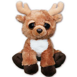 Personalized Lil' Romeo Reindeer Plush