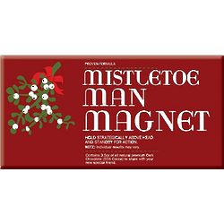 Mistletoe Man Magnet Chocolate Bar