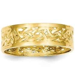Celtic Knot 14K Gold Ring