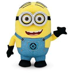 Despicable Me 2 Minion Dave Interactive Plush