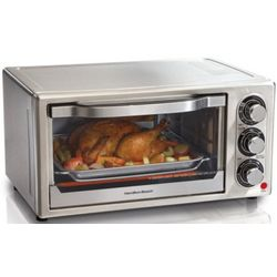 Stainless Steel 6-Slice Toaster Oven