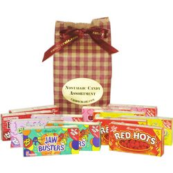 Small Nostalgic Candy Assortment Gift Bag