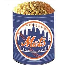 New York Mets 3 Way Popcorn Gift Tin