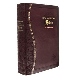 St. Joseph Edition Burgundy Bible