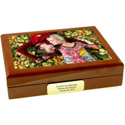 Your Custom Picture Keepsake Box