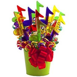 Colorful Music Lollipop Bouquet