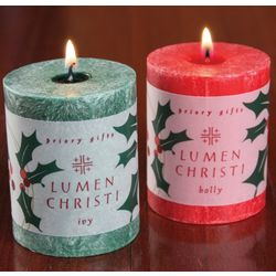 Holly and Ivy Candles