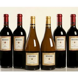 6 Pack Assorted Houdini Wines