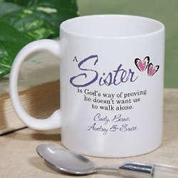 God's Way of Proving Coffee Mug for Sisters