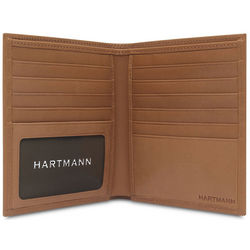 Belting Leather Hipster Wallet