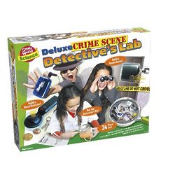 Deluxe Crime Scene Detective's Lab Kit