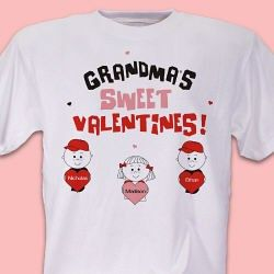 Sweet Valentines Personalized T-Shirt