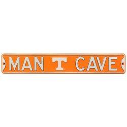 Tennessee Volunteers Man Cave Street Sign