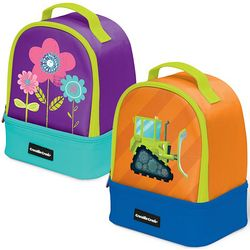 Child's Insulated Colored Lunchbox