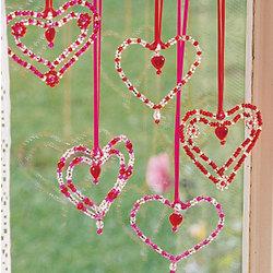 Beaded Hearts Kit