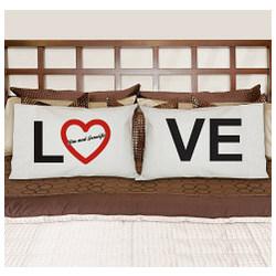 Personalized Love Pillowcase Set