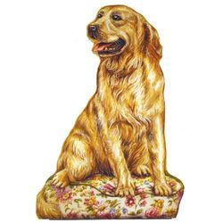 Golden Retriever Doorstop