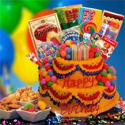 Celebrate Their Day Birthday Gift Basket