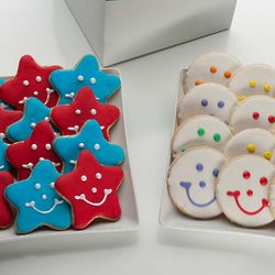 Stars and Smiles Cookie Gift Box