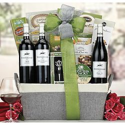 Steeplechase Red Wine Trio Gift Basket