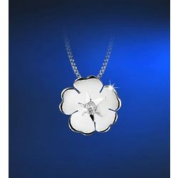 Irish Water Lily Pendant