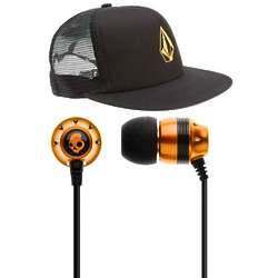Warm Flow Ballcap and Ear Buds Gift Set