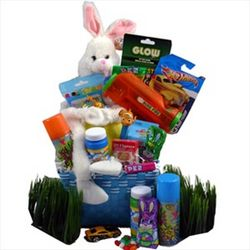 Easter Bunny Gift Basket for Boy