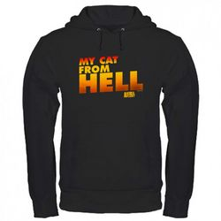 My Cat From Hell Black Hoodie