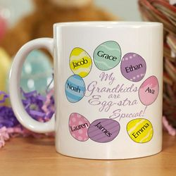 Eggstra Special Personalized Coffee Mug