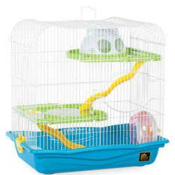 Tri-Level Haven Hamster Cage