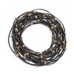 Fifteen Strand Piano Wire Bracelet
