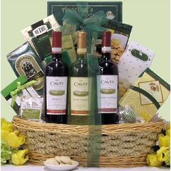 Easter Gourmet Cavit Wine Trio Gift Basket