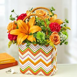 Handbag of Blooms Floral Arrangement
