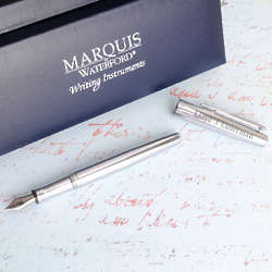 Engraved Waterford Lismore Fountain Pen