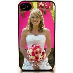 Personalized Wedding Portrait iPhone Case