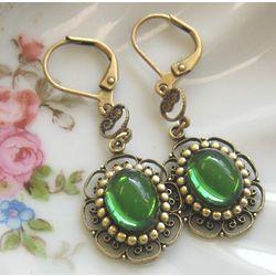 Floral Jewel Earrings
