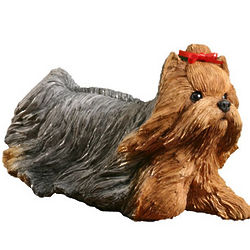 Sandicast Yorkshire Terrier Puppy Figurine