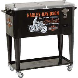 Harley-Davidson World's Coolest Rolling Cooler