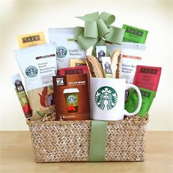 Coffee and Tea To Go Gift Basket