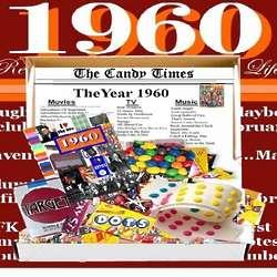 Retro 1960 Candy Chocolate Box