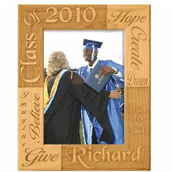 Personalized Graduation Alderwood Frame