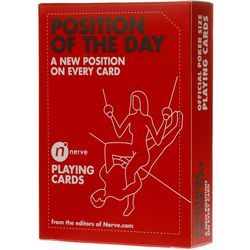 Sex Position of the Day Playing Cards