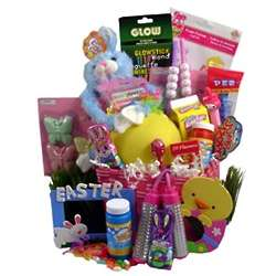 Easter Bunny Girl Toy Basket